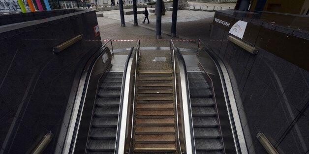 Le métro de Bruxelles est fermé au moins jusque dimanche