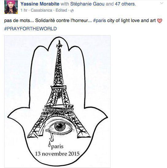 Attentats de Paris: Les Marocains expriment leur