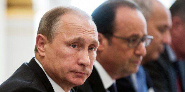 Lutte contre l'EI: Poutine, acteur incontournable, désormais accepté par