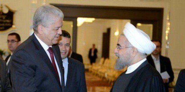 Sellal reçu à Téhéran par le président iranien Hassan