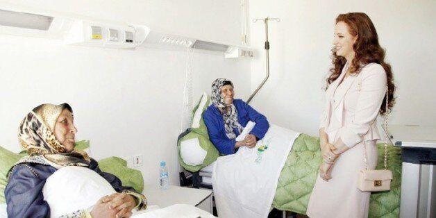 La princesse Lalla Salma, présidente de la Fondation Lalla Salma-prévention et traitement des