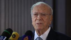 Le président tunisien Béji Caïd Essebsi condamne les attentats