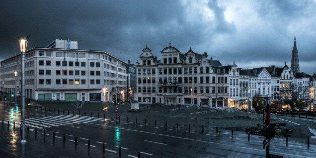 Bruxelles, ville fantôme depuis l'alerte terroriste