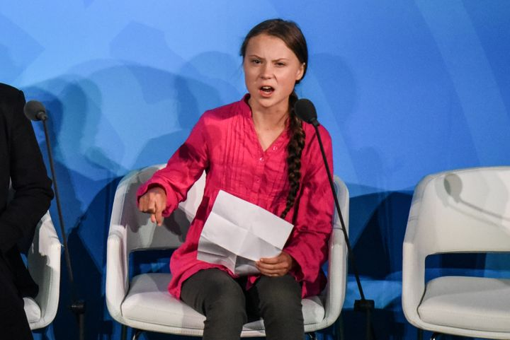Thunberg delivered a fiercely critical speech of world leaders at the Climate Action Summit at the United Nations on Monday.