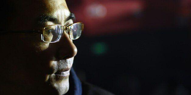 Le réalisateur tibétain Pema Tseden le 12 novembre 2015 à