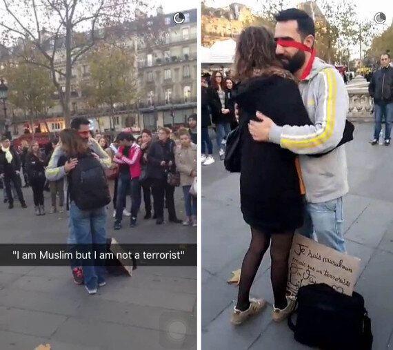 Un musulman offre des