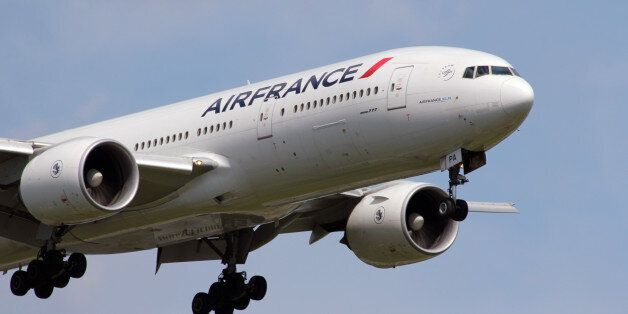 Boeing 777-200.Air France and KLM Royal Dutch Airlines have been a single company for a number of years,...