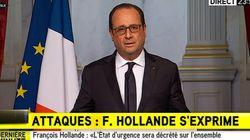 François Hollande décrète l'état d'urgence et ferme les