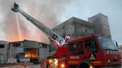 18 morts et 43 blessés dans un incendie dans un camp de migrants à