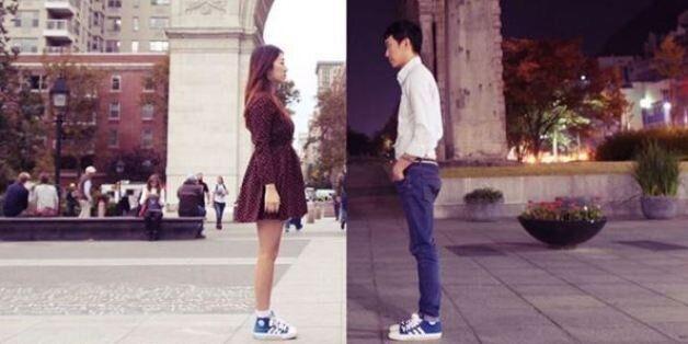 Ce couple illustre magnifiquement le quotidien d'une relation longue distance