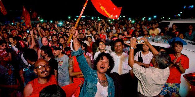 Enfin le bout du tunnel pour le peuple birman