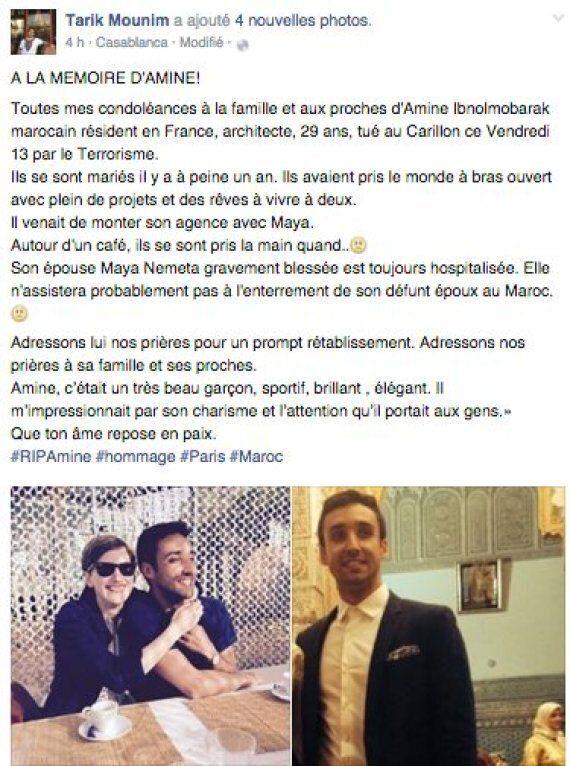 Attentats de Paris: Les internautes rendent hommage au Marocain