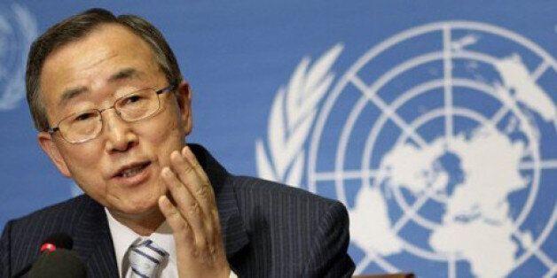 Ban Ki-moon en Corée du
