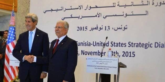 Le secrétaire d'État américain John Kerry à Tunis: