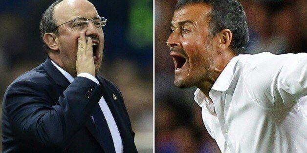 Real-Barça: Benitez et Luis Enrique, la glace et le