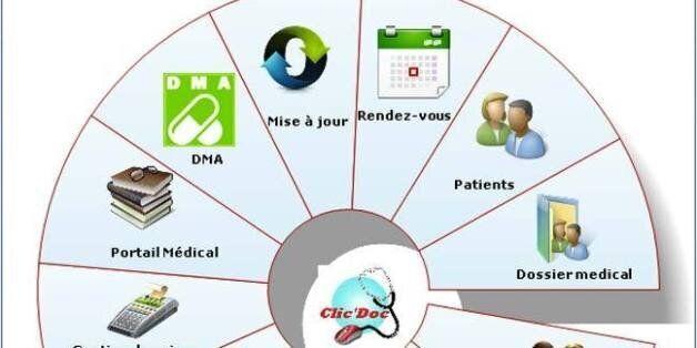Clic'Doc d'ORAFINA Technologie, un logiciel 100% algérien de gestion de cabinet