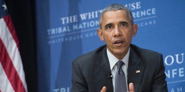 Barack Obama le 5 novembre 2015 à la Maison Blanche à