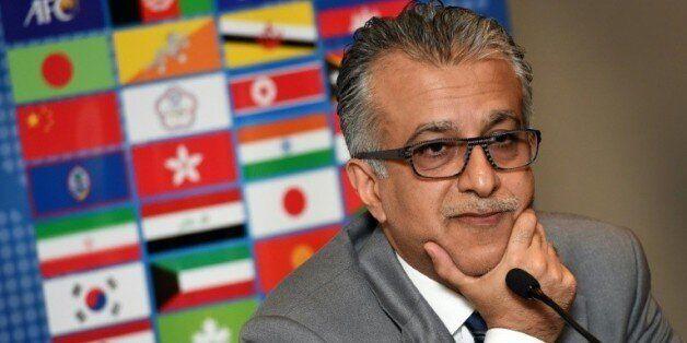 Cheikh Salmane ben Ibrahim Al Khalifa, président de la Confédération asiatique de football, le 9 janvier...