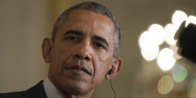 Le président américain Barack Obama à la Maison Blanche, le 16 octobre 2015, à