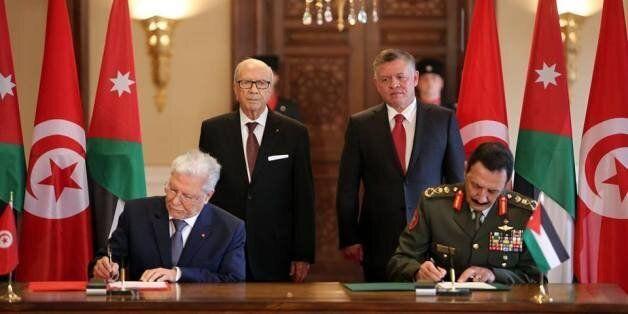 Accords de coopération militaire et sécuritaire entre la Tunisie et la Jordanie après la visite de Béji...