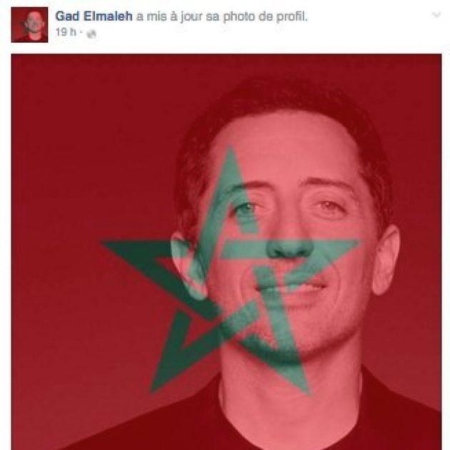Gad Elmaleh rend hommage au