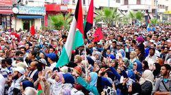 Des milliers de Marocains ont marché en solidarité avec la