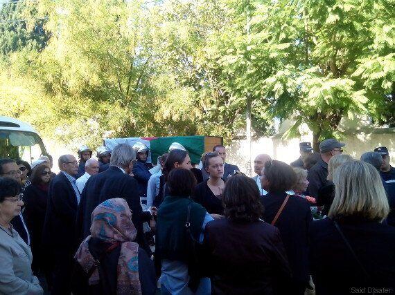 Au cimetière chrétien d'El Madania, l'adieu à Claudine Chaulet