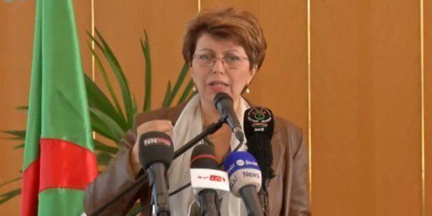 Nadia Labidi, le jour de son départ du ministère de la
