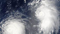 Un puissant typhon touche les