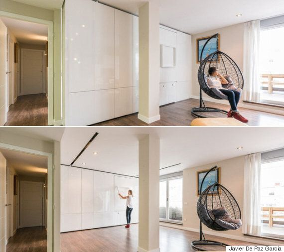 Les murs mobiles: La solution idéale pour les petits espaces
