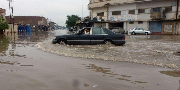 Inondations à Bagdad en