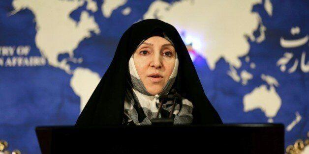 Marzieh Afkham, ex-porte-parole du ministère iranien des Affaires étrangères devenu la première femme...