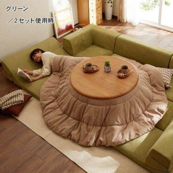 Le kotatsu, l'invention japonaise pour rester au chaud tout l'hiver