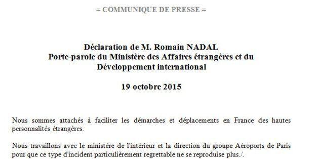 Affaire Grine: Les autorités françaises