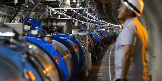Le grand accélérateur de particules construit à la frontière
