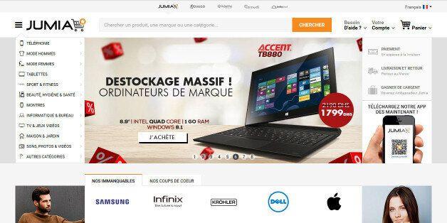 Jumia dévoile son nouveau site