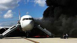 Etats-Unis: 15 blessés dans l'incendie d'un avion dans un aéroport de