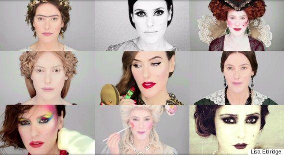 La maquilleuse Lisa Eldridge recense les pires et les meilleurs looks maquillage de tous les temps