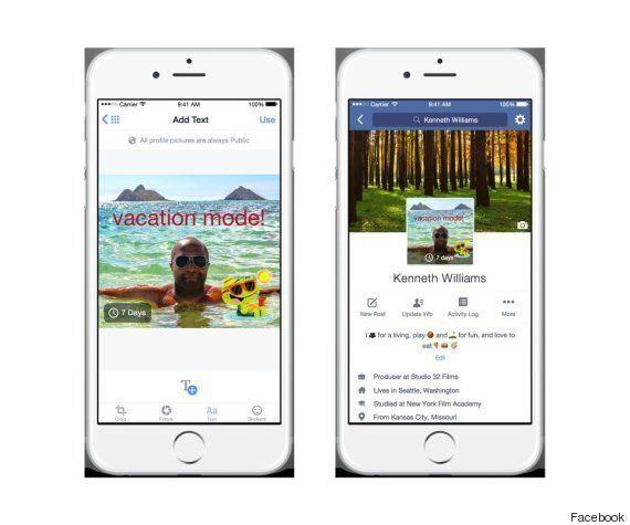 La photo de profil sur Facebook pourra bientôt être une vidéo animée
