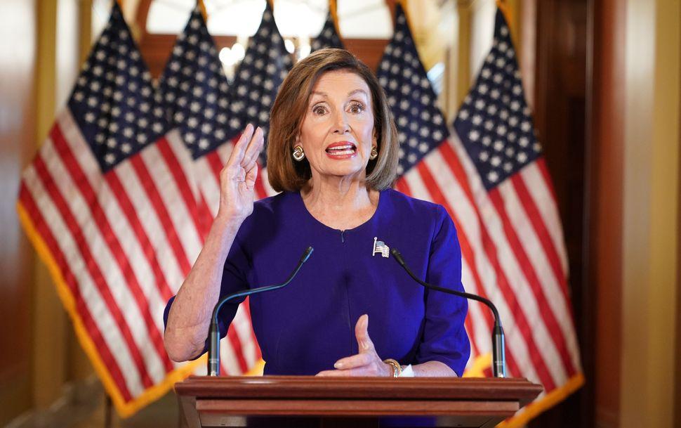 Nancy Pelosi announces a formal impeachment inquiry of President Donald Trump on Sept. 24, 2019, in Washington, D.C.
