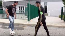 Un marocain fait un petit pont à l'international allemand Sami