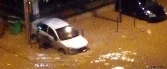 Alger noyée sous des pluies torrentielles, plusieurs dégâts