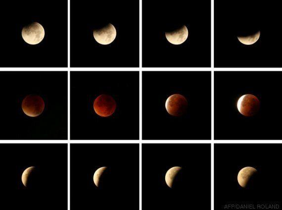 Eclipse lunaire: Les yeux de la planète rivés sur la