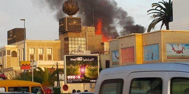 Explosions et flammes au siège d'Addoha à