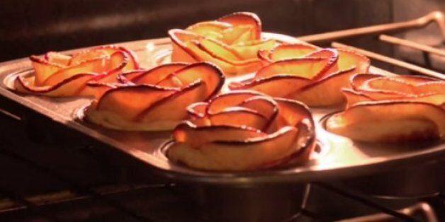 Cette recette de tarte aux pommes à la forme originale a séduit les