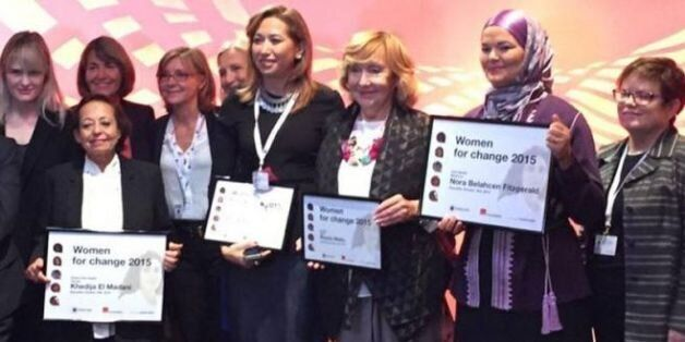 Prix Women for change: La Marocaine Nora Belahcen Fitzgerald
