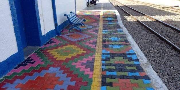 Tunisie: Des jeunes transforment la gare de train de Kalaa Kebira pour embellir leur