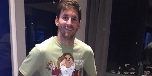 Lionel de Messi reçoit un drôle de cadeau de la part de Luis