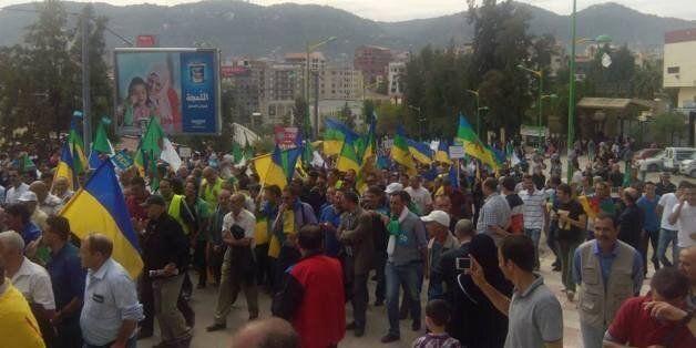 Marche du RCD: environ 20 000 personnes selon les organisateurs, 2000 selon la police, ont répondu à
