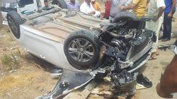 Accidents de la route: plus de 2.900 morts et 29.400 blessés en